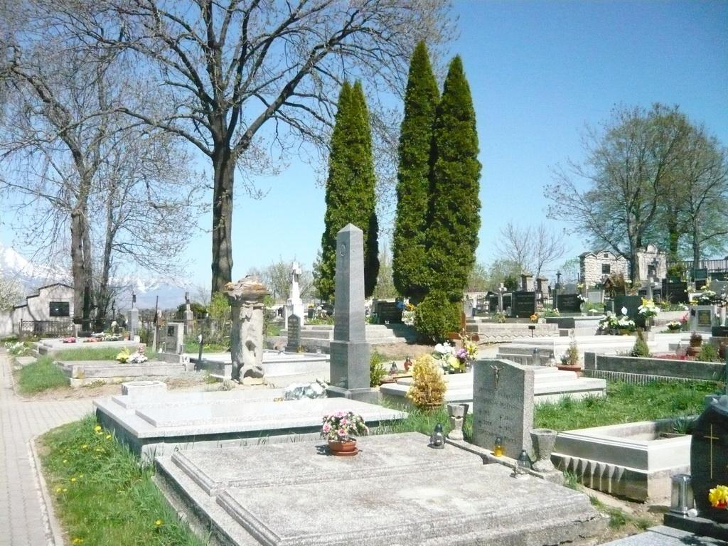 Cintorín Stráže foto